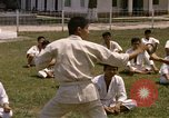 Image of karate class South Vietnam, 1967, second 27 stock footage video 65675053591