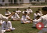 Image of karate class South Vietnam, 1967, second 29 stock footage video 65675053591