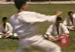 Image of karate class South Vietnam, 1967, second 33 stock footage video 65675053591