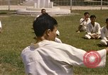 Image of karate class South Vietnam, 1967, second 36 stock footage video 65675053591
