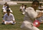 Image of karate class South Vietnam, 1967, second 37 stock footage video 65675053591