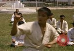 Image of karate class South Vietnam, 1967, second 38 stock footage video 65675053591