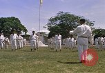 Image of karate class South Vietnam, 1967, second 43 stock footage video 65675053591