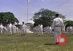 Image of karate class South Vietnam, 1967, second 44 stock footage video 65675053591