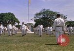 Image of karate class South Vietnam, 1967, second 47 stock footage video 65675053591