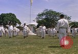 Image of karate class South Vietnam, 1967, second 49 stock footage video 65675053591