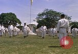 Image of karate class South Vietnam, 1967, second 52 stock footage video 65675053591