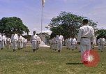 Image of karate class South Vietnam, 1967, second 53 stock footage video 65675053591