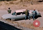 Image of vehicle ambush counter-attack ramming techniques California United States USA, 1976, second 22 stock footage video 65675053608