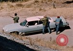 Image of vehicle ambush counter-attack ramming techniques California United States USA, 1976, second 23 stock footage video 65675053608