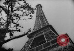 Image of Eiffel Tower Paris France, 1939, second 41 stock footage video 65675053614