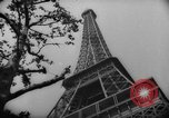 Image of Eiffel Tower Paris France, 1939, second 43 stock footage video 65675053614