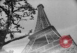 Image of Eiffel Tower Paris France, 1939, second 44 stock footage video 65675053614