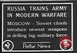 Image of Red Army practice maneuvers Moscow Russia Soviet Union, 1920, second 1 stock footage video 65675053621