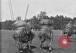 Image of Red Army practice maneuvers Moscow Russia Soviet Union, 1920, second 19 stock footage video 65675053621