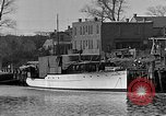 Image of Curtis Boat & Engine Corp on riverfront Norfolk Virginia United States USA, 1932, second 2 stock footage video 65675053626