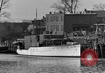 Image of Curtis Boat & Engine Corp on riverfront Norfolk Virginia United States USA, 1932, second 7 stock footage video 65675053626