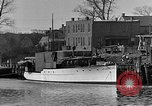 Image of Curtis Boat & Engine Corp on riverfront Norfolk Virginia United States USA, 1932, second 10 stock footage video 65675053626