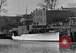 Image of Curtis Boat & Engine Corp on riverfront Norfolk Virginia United States USA, 1932, second 17 stock footage video 65675053626