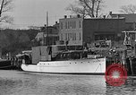 Image of Curtis Boat & Engine Corp on riverfront Norfolk Virginia United States USA, 1932, second 18 stock footage video 65675053626