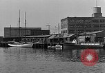 Image of Curtis Boat & Engine Corp on riverfront Norfolk Virginia United States USA, 1932, second 21 stock footage video 65675053626