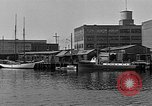 Image of Curtis Boat & Engine Corp on riverfront Norfolk Virginia United States USA, 1932, second 23 stock footage video 65675053626