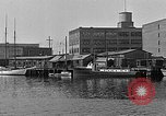 Image of Curtis Boat & Engine Corp on riverfront Norfolk Virginia United States USA, 1932, second 24 stock footage video 65675053626