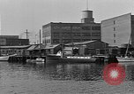 Image of Curtis Boat & Engine Corp on riverfront Norfolk Virginia United States USA, 1932, second 25 stock footage video 65675053626