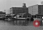Image of Curtis Boat & Engine Corp on riverfront Norfolk Virginia United States USA, 1932, second 26 stock footage video 65675053626