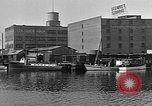 Image of Curtis Boat & Engine Corp on riverfront Norfolk Virginia United States USA, 1932, second 28 stock footage video 65675053626