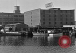 Image of Curtis Boat & Engine Corp on riverfront Norfolk Virginia United States USA, 1932, second 29 stock footage video 65675053626
