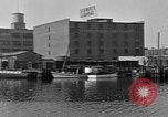Image of Curtis Boat & Engine Corp on riverfront Norfolk Virginia United States USA, 1932, second 30 stock footage video 65675053626
