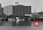 Image of Curtis Boat & Engine Corp on riverfront Norfolk Virginia United States USA, 1932, second 31 stock footage video 65675053626