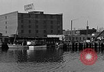 Image of Curtis Boat & Engine Corp on riverfront Norfolk Virginia United States USA, 1932, second 32 stock footage video 65675053626