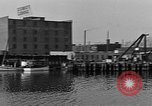 Image of Curtis Boat & Engine Corp on riverfront Norfolk Virginia United States USA, 1932, second 33 stock footage video 65675053626