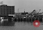 Image of Curtis Boat & Engine Corp on riverfront Norfolk Virginia United States USA, 1932, second 34 stock footage video 65675053626