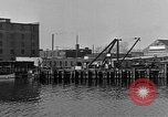 Image of Curtis Boat & Engine Corp on riverfront Norfolk Virginia United States USA, 1932, second 35 stock footage video 65675053626
