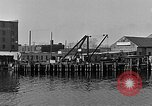 Image of Curtis Boat & Engine Corp on riverfront Norfolk Virginia United States USA, 1932, second 36 stock footage video 65675053626