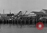 Image of Curtis Boat & Engine Corp on riverfront Norfolk Virginia United States USA, 1932, second 37 stock footage video 65675053626