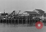 Image of Curtis Boat & Engine Corp on riverfront Norfolk Virginia United States USA, 1932, second 38 stock footage video 65675053626