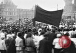Image of Crowds in Red Square Moscow Russia Soviet Union, 1924, second 10 stock footage video 65675053627