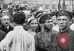 Image of Crowds in Red Square Moscow Russia Soviet Union, 1924, second 23 stock footage video 65675053627