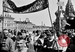 Image of Crowds in Red Square Moscow Russia Soviet Union, 1924, second 25 stock footage video 65675053627