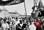Image of Crowds in Red Square Moscow Russia Soviet Union, 1924, second 26 stock footage video 65675053627