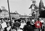 Image of Crowds in Red Square Moscow Russia Soviet Union, 1924, second 28 stock footage video 65675053627