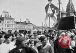 Image of Crowds in Red Square Moscow Russia Soviet Union, 1924, second 30 stock footage video 65675053627