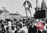 Image of Crowds in Red Square Moscow Russia Soviet Union, 1924, second 31 stock footage video 65675053627
