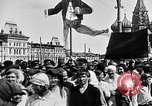 Image of Crowds in Red Square Moscow Russia Soviet Union, 1924, second 32 stock footage video 65675053627