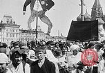 Image of Crowds in Red Square Moscow Russia Soviet Union, 1924, second 33 stock footage video 65675053627