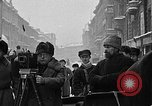 Image of snow covered roads Moscow Russia Soviet Union, 1920, second 2 stock footage video 65675053629